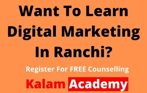 Digital Marketing Course In Ranchi